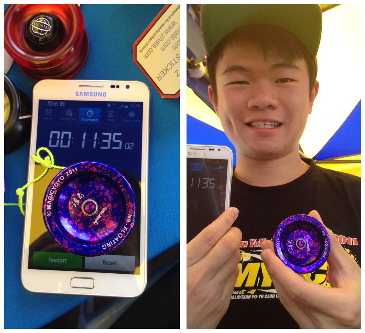 LONG SLEEPER RECORD 11MINS 35SECS MAGICYOYO N9