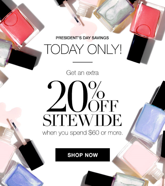 Avon Presidents Day Sale going on now! Take 20% off your online purchase! Shop https://jenbertram.avonrepresentative.com/