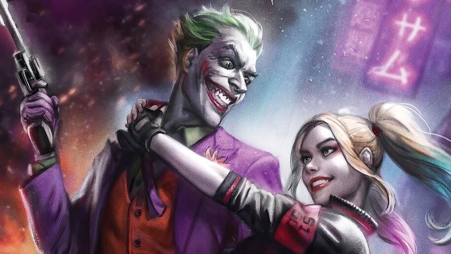 Joker and Harley Quinn, 4K, #6.2100