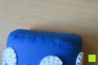 Kissen Kante: High Pulse Akupressur-Set - Akupressurmatte & Akupressurkissen für eine einfache und wirksame Behandlung von Schmerzen und Verspannungen am ganzen Körper. (Blau)