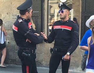 Alessandro Perez è il carabiniere più bello su Facebook