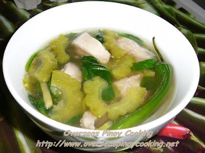 Tinolang Manok sa Ampalaya Recipe