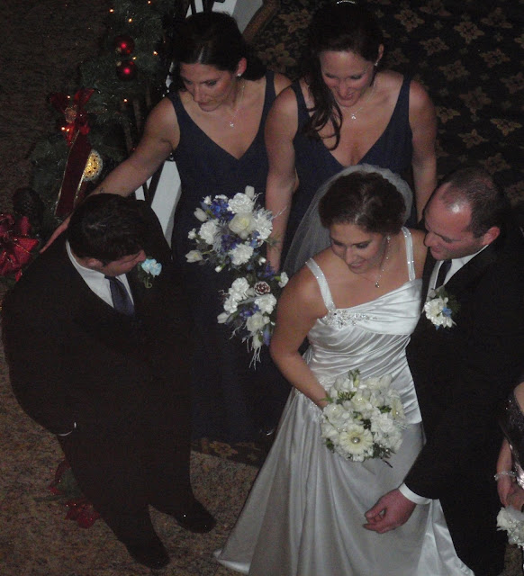 wedding at Lucien's Manor