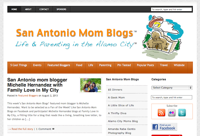 San Antonio Mom Blogs