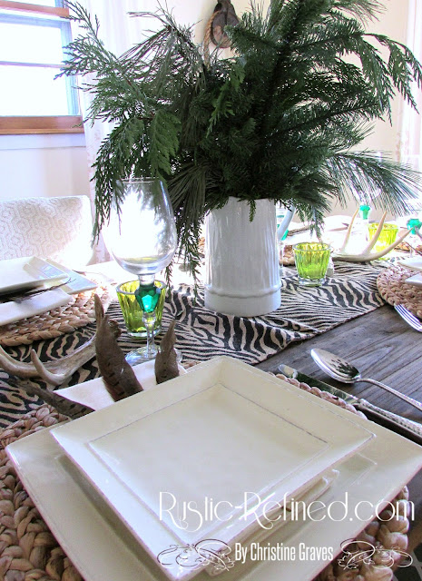 How to set a casual dining table with lots of style!