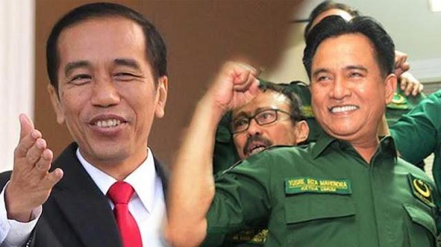 PDIP Buka Peluang Sandingkan Yusril dengan Jokowi