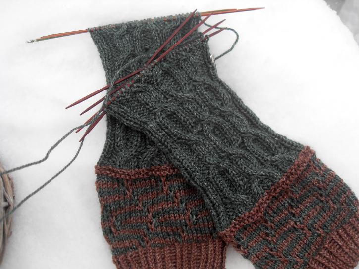 TTL Mystery Socks 2017 - legs