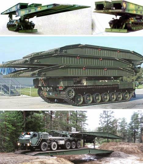 LEGUAN 26M AVLB - Armored Vehicle-Launched Bridge