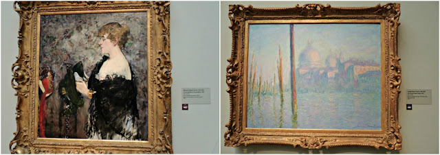 Legion of Honor: La Modista y The Grand Canal Venice de Monet