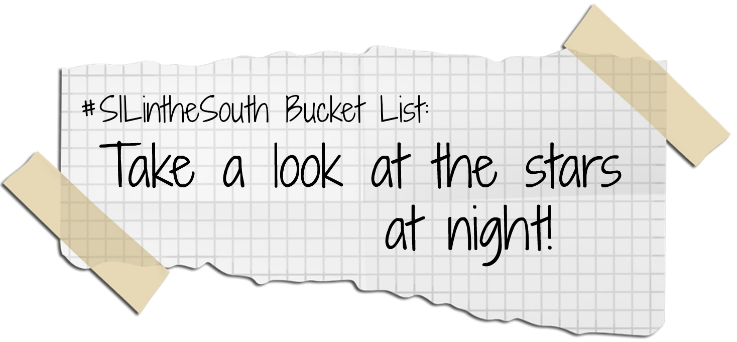 Take a look at the stars at Night - Louisiana Summer Bucket List