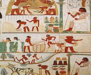 بحث كامل عن أسرار الزراعة في مصر الفرعونية القديمة