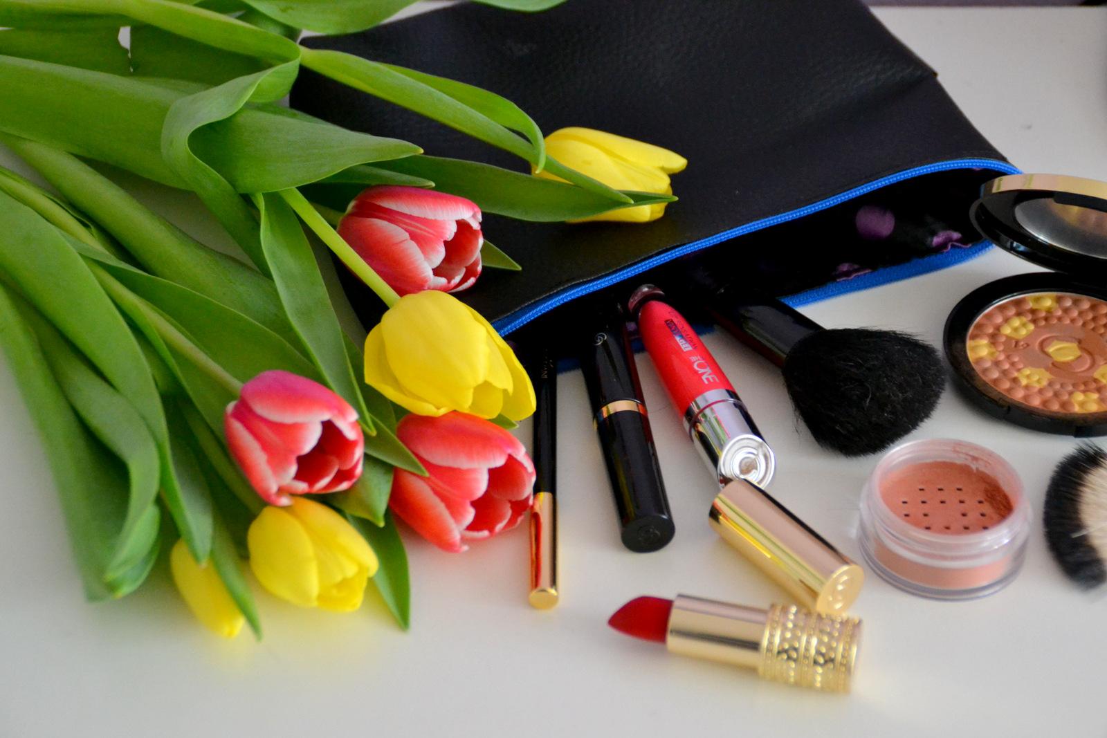 SIY / DIY: foto postup ako ušit originálnu kozmetickú taštičku  // handmade make up bag