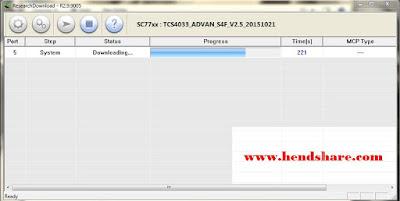 Cara Flash Advan S4F Via Research Download Dan Firmware Terbaru
