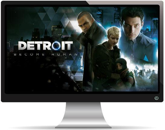 Detroit Become Human - Fond d'Écran en Ultra HD 4k