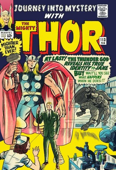 Journey into Mystery #113, Thor vs the Grey Gargoyle