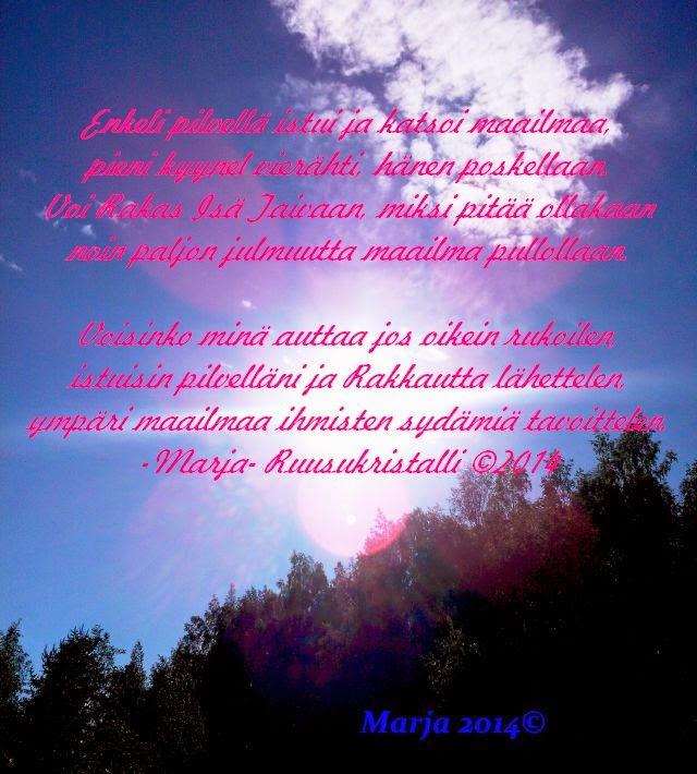 kauniita runoja elämästä Suonenjoki