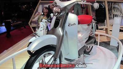 IMOS 2016: Honda Ev-Cub Concept, Motor Listrik Honda