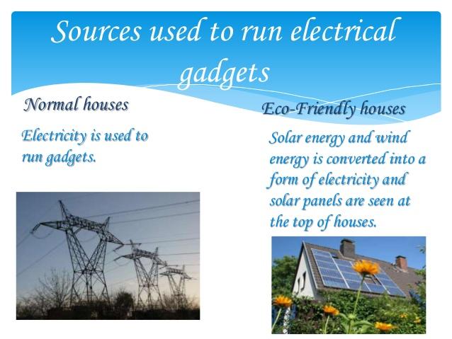 Sumber energi rumah ramah lingkungan
