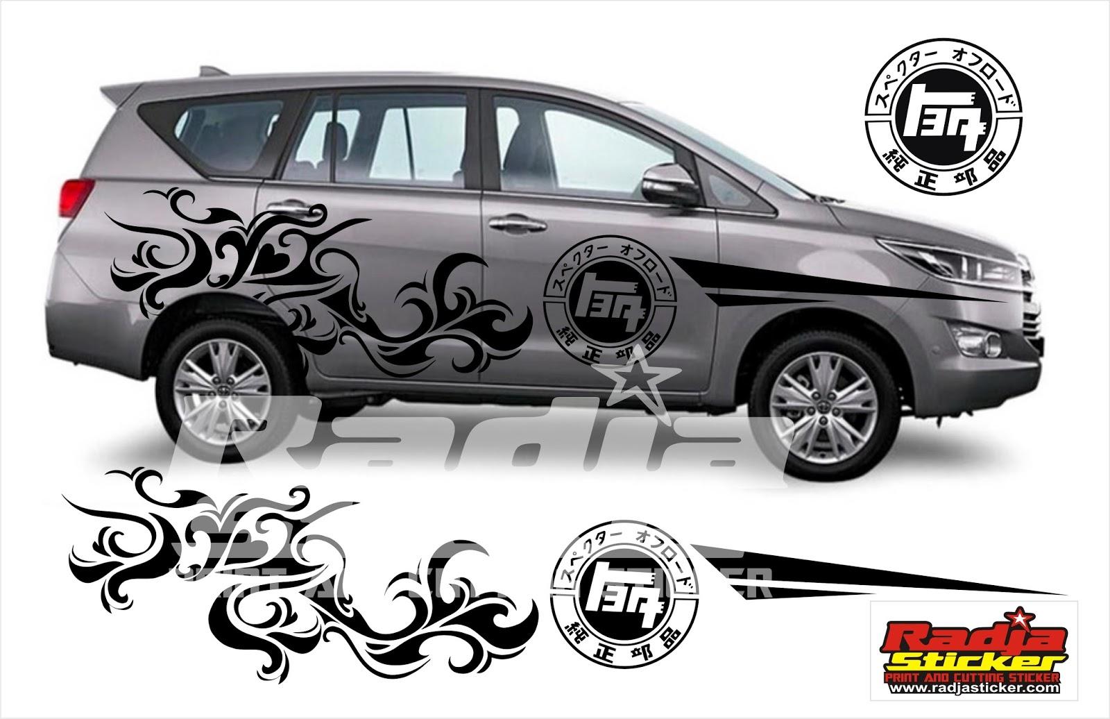 Koleksi Cutting Sticker Mobil Ertiga Terlengkap ...