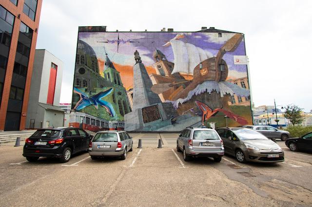 Murales su Roosvelta-Lodz