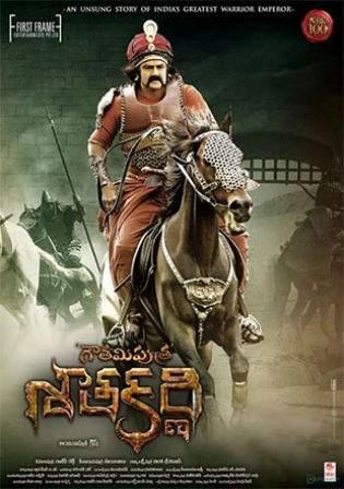 Gautamiputra Satakarni 2017 HDRip 400MB UNCUT Hindi Dual Audio 480p Watch Online Full Movie Download bolly4u