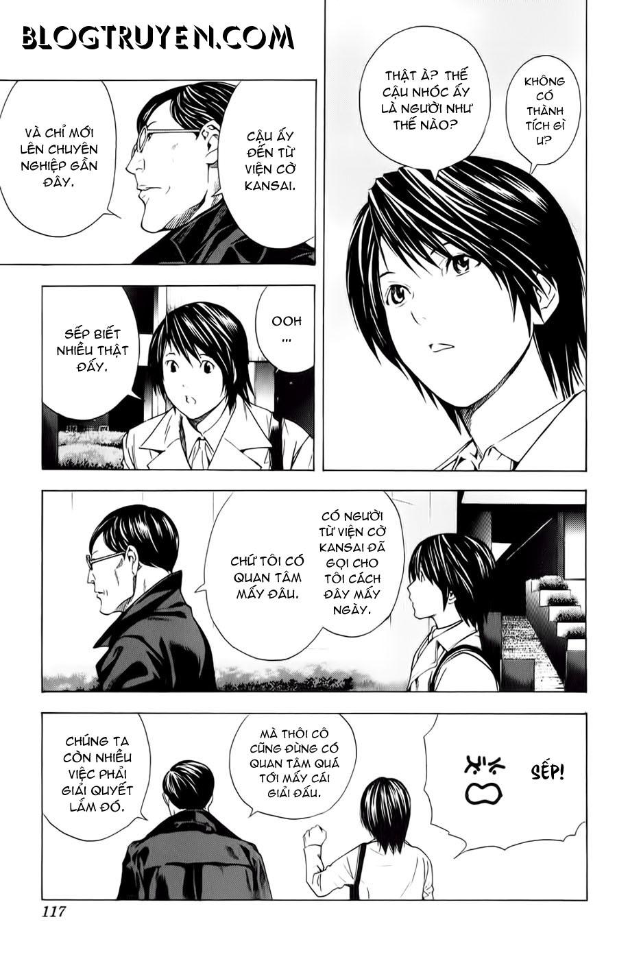 Hikaru No Go hikaru no go chap 153 trang 12