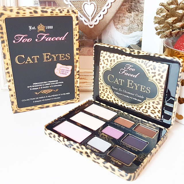Christmas Giveaway | Too Faced Cat Eyes Ferociously Feminine Eye Shadow & Liner Collection
