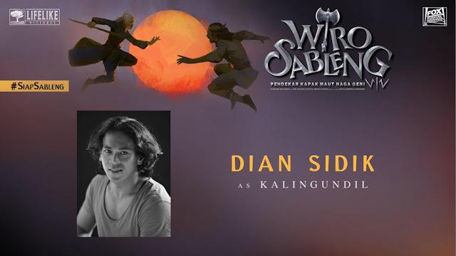 Dian Sidik sebagai Kaligundil/ Sumber foto @LifeLikePictrs
