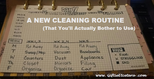 The Cleaning Schedule in Your Planner That Will Actually Work