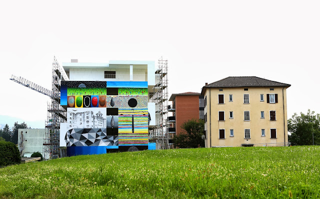 Xuan Alyfe's New Street Art Piece For Arte Urbana Lugano In Switzerland 4