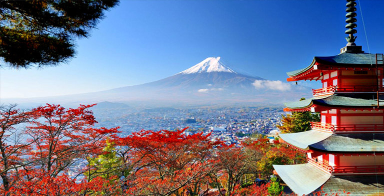 Fuji mountain natural attractions