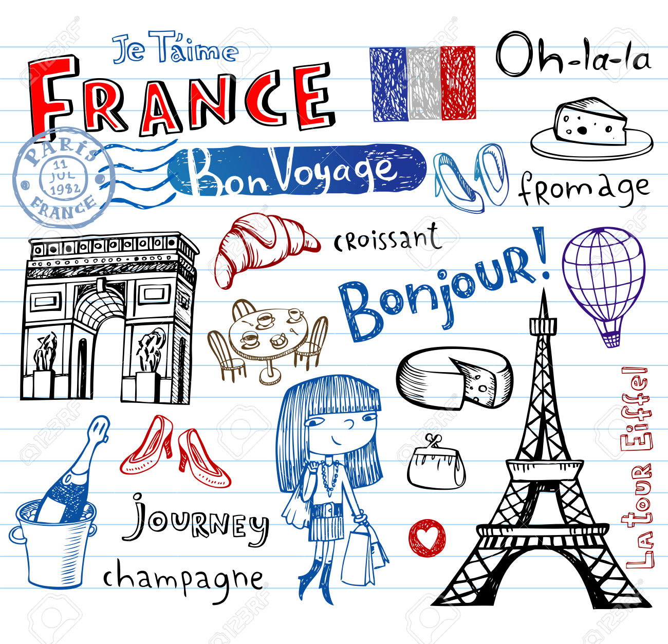 Podróże - nagłówek - Francuski przy kawie