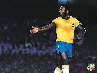 Gambar pele sang legenda Brasil