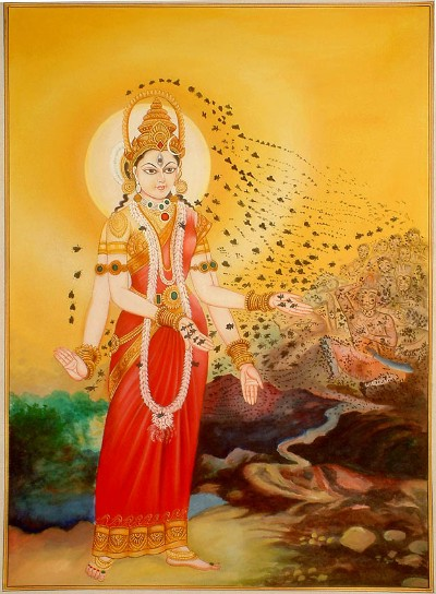 Hindu Goddess aruna devi img