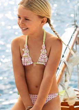 bikinis niña 2012