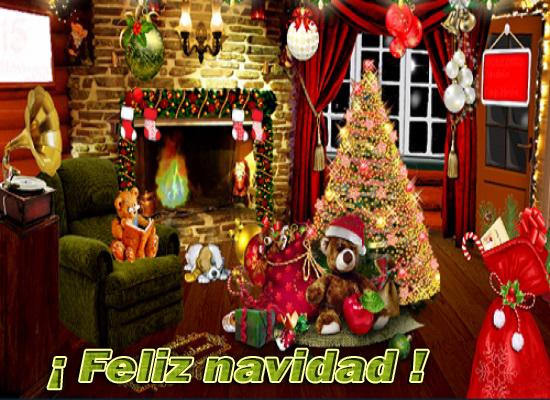 30 Bonitas postales navideñas de feliz navidad y apellidos ...
