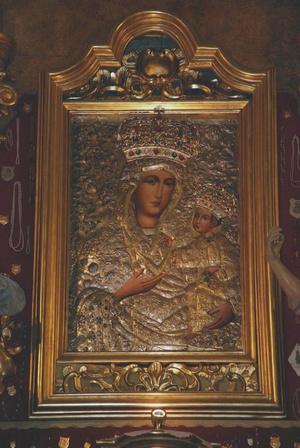 cudowny obraz Matki Bożej Kłobuckiej