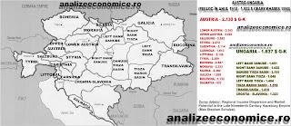 Cât de bogate erau Transilvania, Banatul și Bucovina față de Vechiul Regat în 1910