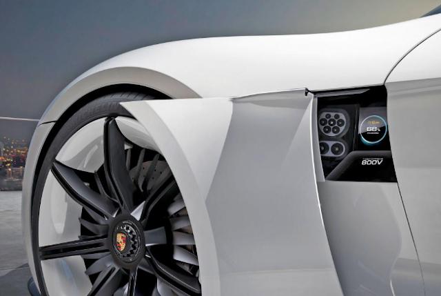 2020 Porsche Taycan Hybrid engine