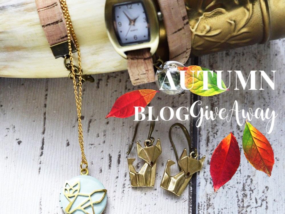Die Füchse sind los - Schmuck von VILLA SORGENFREI  im Herbst-Blog GiveAway