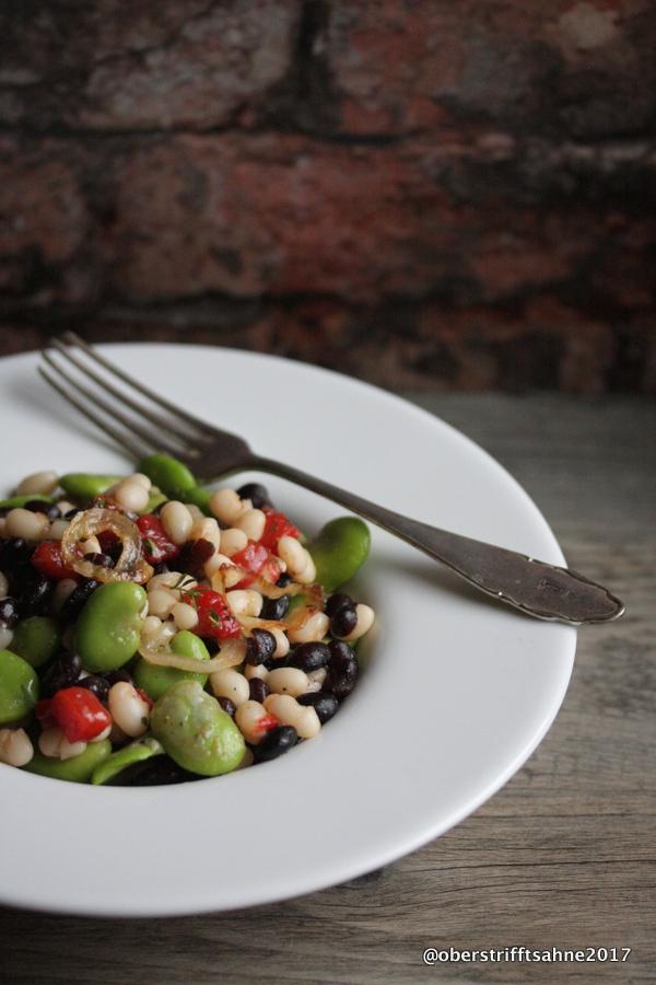 Bohnensalat von dicken Bohnen