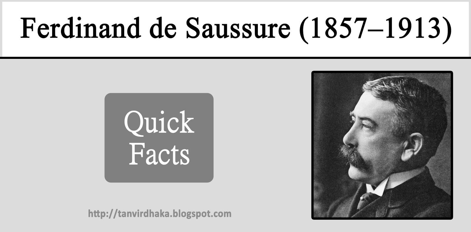Ferdinand de Saussure, Swiss linguist: biography, works on linguistics 6