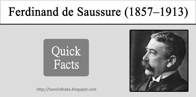 Ferdinand de Saussure Quick Facts