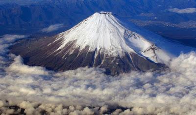 Gunung Fuji Dari Atas Ketinggian