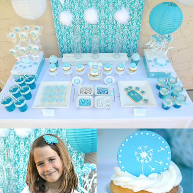 A Dandelion Inspired Make a Wish 9th Birthday Party