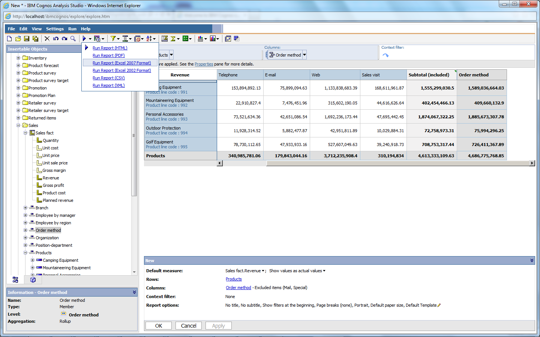 IBM Cognos 10 BI: Components & User Interfaces - IBM