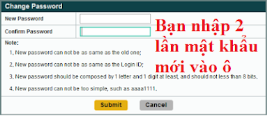 win2888 bắt buộc đổi mật khẩu mới sau lần đăng nhập đầu tiên