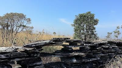 muro de pedras - Capitólio