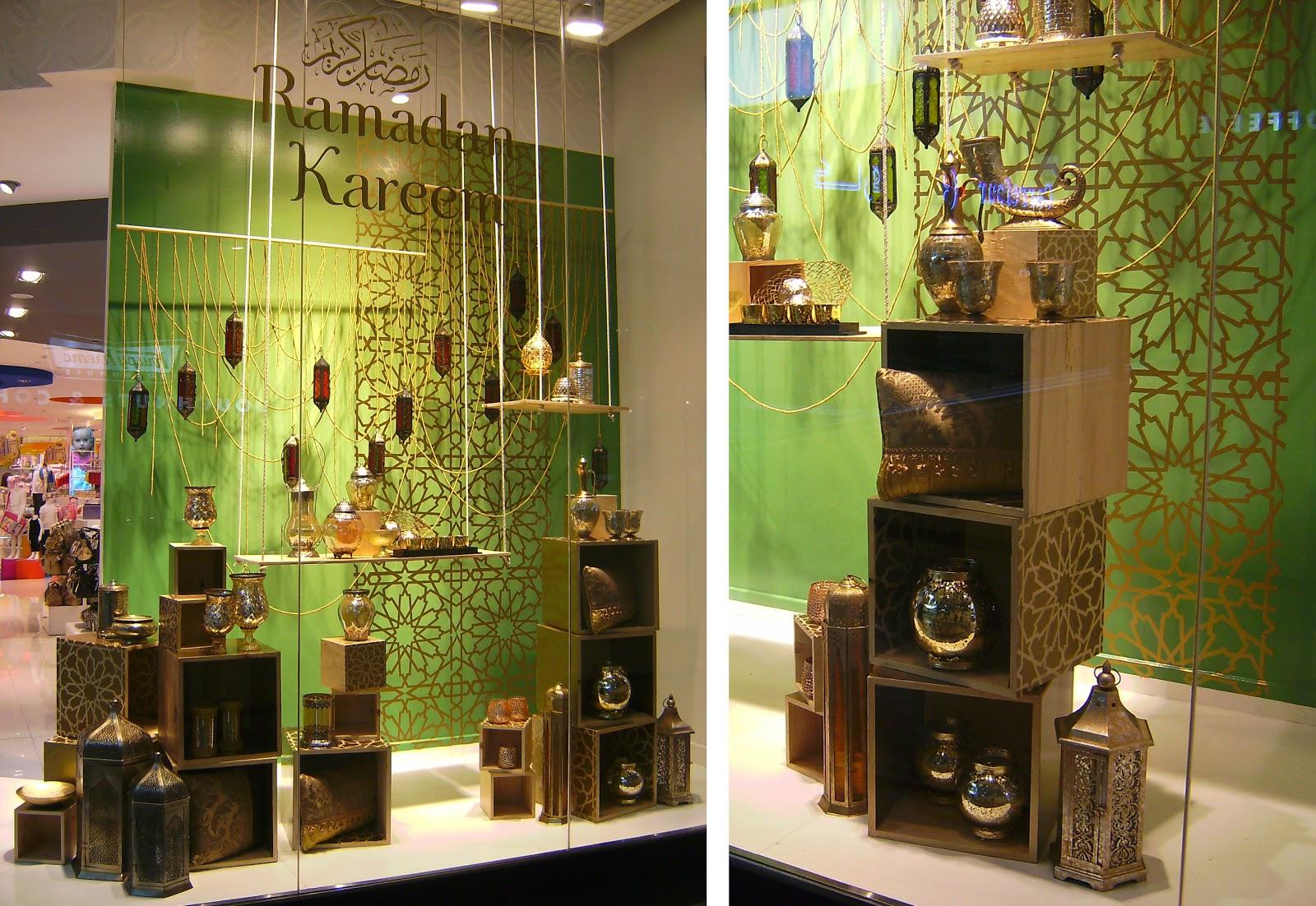 Louise Goodman Visual Merchandising Centrepoint Ramadan