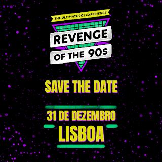 Revenge of 90's 31 de Dezembro 2018